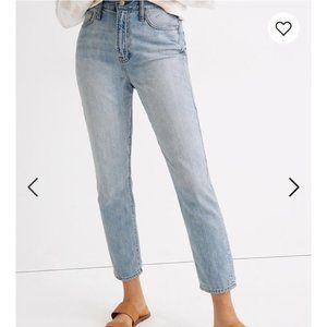 MADEWELL Perfect Curvy Vintage Blue Jeans Size 33